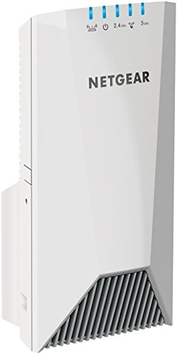 NETGEAR WiFi Mesh Range Extender EX7500 - Coverage up to 2000 sq.ft. and 40 devices with AC2200 Tri-Band Wireless Signal Booster & Repeater (up to 2200Mbps speed), plus Mesh Smart Roaming