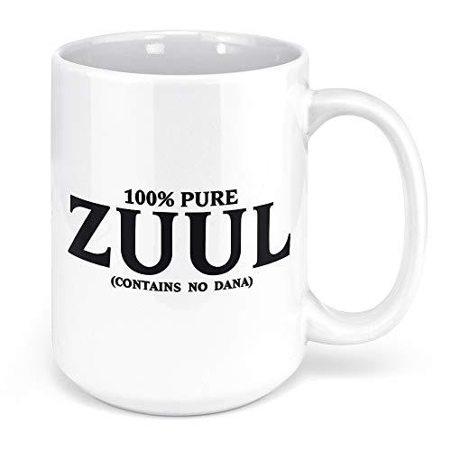 Tenacitee Pure Zuul Coffee Mug, 15oz, White
