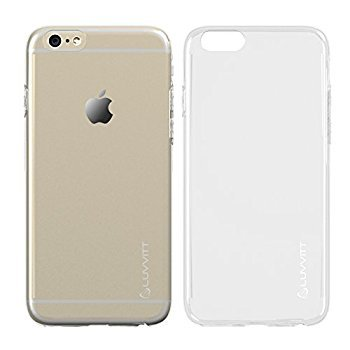 iPhone 6 Hülle ULTRA SLIM, LUVVITT ® iPhone 6 Hülle/0,6 mm, für Handyrückseite) Transparent/Air/11.94 cm Display, Transparent