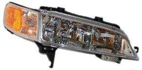 TYC 20-1844-00 Honda Accord Passenger Side Headlight (97 Honda Accord Right Headlight)