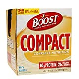 Boost Compact Complete Nutrition, 4 pk, Very Vanilla, 4 oz