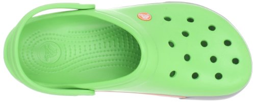 Mixte Light Sabots Crocs Lime Vert II Adulte 5 Crocband Clog Grey XCgwPq