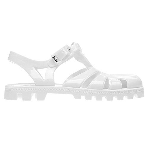 JuJu Jellies Kinder Sammy Sandal Jelly-Schuhe Weiß