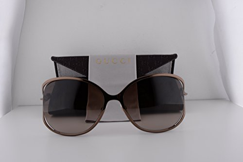 Gucci GG4250/N/S Bronze w/Brown Gradient Lens w/Stones On Temples TUVJ6