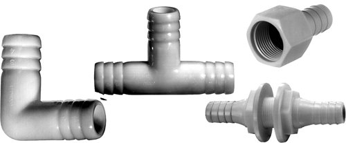 attwood Livewell/Aerator Threaded Barb Fitting for 3/4