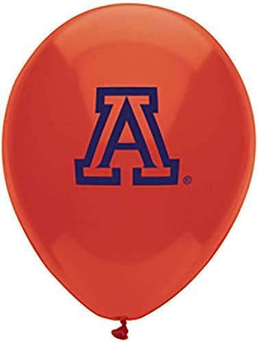 Pioneer Balloon Company 10 Count University of Arizona Latex Balloon, 11