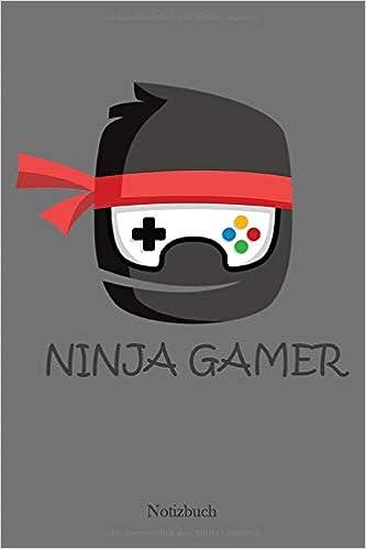 Notizbuch: Ninja Gamer Anime | Mit viel Platz für Notizen ...