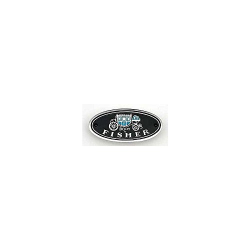 Eckler's Premier Quality Products 33154042 Camaro Sill Plate Emblem Body By Fisher Sill Plate Emblem