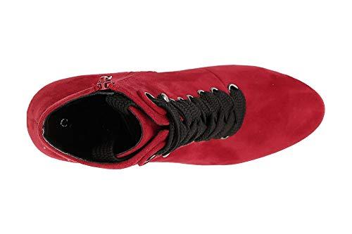 Cafènoir Jhb944038400 Tronchetto 40 Allacciatura In Microfibra Rosso 038 Con RArxTn4R