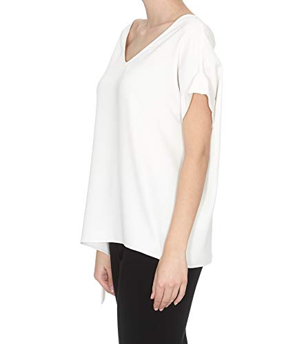 P h a D311095002 Mujer s Blanco r o Blouse Algodon wIIdqxTr6