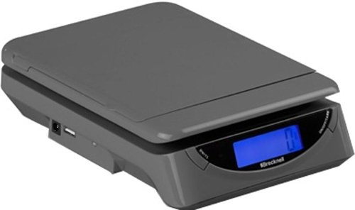 Brecknell PS25 Electronic USB Postal Scale, 25LB Capacity, Simple Weight-Only Electronic Scale