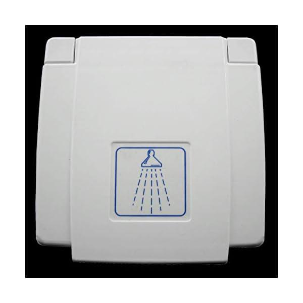 31%2BHxGq HcL Wasser Außensteckdose Außendusche Versorgungsklappe Wohnmobil Wohnwagen Dusche Mischbatterie weiß
