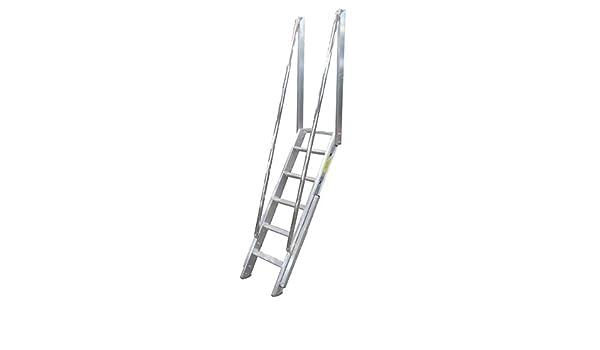 Escalera Direct EM400 escala de Meunier aluminio: Marchas de 12 cm: Amazon.es: Bricolaje y herramientas