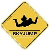 SKY JUMPER, FALLSCHIRMSPRINGER CROSSING #2 Aufkleber Autoaufkleber Sticker Vinylaufkleber Decal