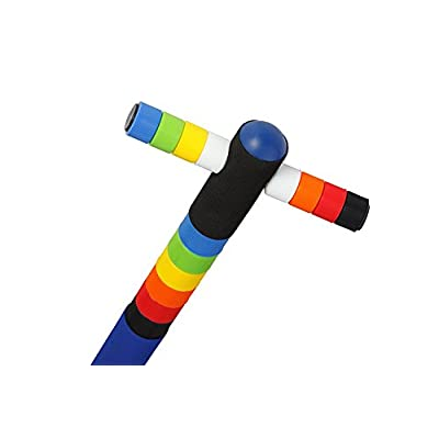 New Bounce Easy Grip Silicone Ring Sport Pogo Stick (One of Two is Pro): Toys & Games