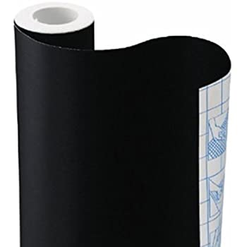 "YOPO Sticky Back Chalkboard Contact Paper for Home or Office -Great for Walls (18"" x 79"")"