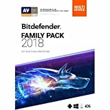 Software : Bitdefender Family Pack 2018 2 Years Unlimited Devices
