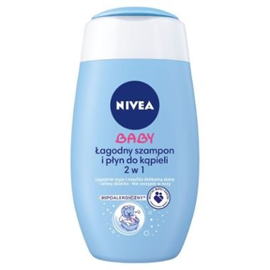 Nivea Baby Sanft Shampoo & Bad 2  in 1  hypoallergen fü r Kinder 200  ml