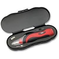 Weller BP865CEU Kit professionnel de fer à souder avec étui et accessoires, alimentation par batterie 6–8W/6V