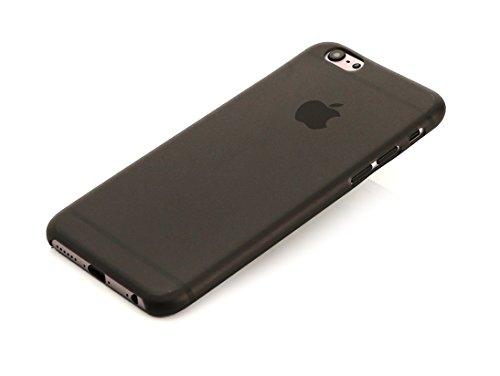 ArktisPRO federleichte Schutzhülle für Apple iPhone 6 matt schwarz/transparent