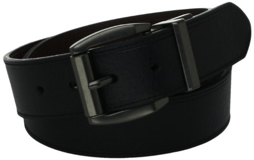 Levi's Men's Black To Brown Laminate Reversible Leather Belt,Black/Brown,36 (Belt Laminate)