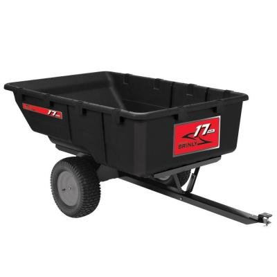 Brinley 850 lb. 17 cu. ft. Tow-Behind Poly Utility Cart