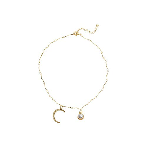 Z&S Ladies Fashion Moon Clavicle Chain Fairy Necklace Street Shoot Catwalk - Catwalk Chain