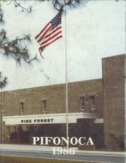 (Reprint) Yearbook: 1986 Pine Forest High School Pifonoca Yearbook Fayetteville - Stores Fayetteville Nc