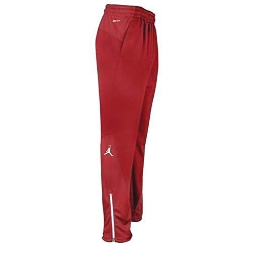 Nike Jordan Flight Team Men's Basketball Pants Red Size L 696734-657