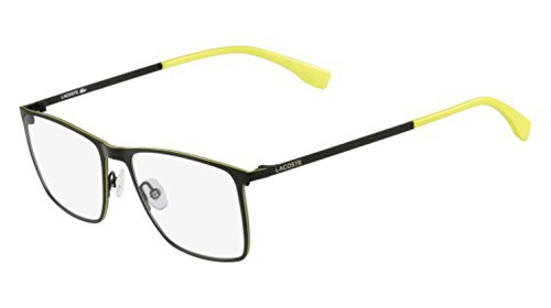 Lacoste De 56 Monturas Gafas Matte L2223 56 Rectangulares 315 Green qxapqfS