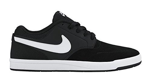 Nike SB Fokus, Chaussures de Skate Homme, Noir Noir (Black/White)