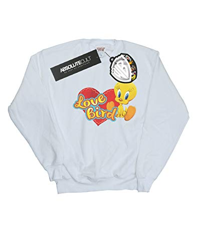Garçon Love San Blanc Valentino Absolute Pie Cult Looney Sweat Tunes shirt Bird Tweety atqfBx8Zw