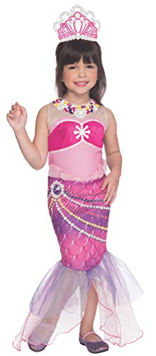 Rubies Barbie and The Pearl Princess Lumina Costume, Child Small]()