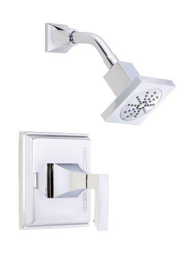 (Danze D500536T Logan Square Single Handle Shower Trim Kit, 2.5 GPM, Valve Not Included, Chrome)