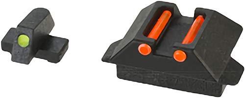 (Evike WE-Tech Fiber Optic Sight Set for WE33 Series Airsoft GBB Pistols - Part # 44 + 46)