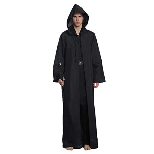 Hooded Cape Cloak Halloween Costume Vampire Cape Robe Adult Party Cosplay Cape ()