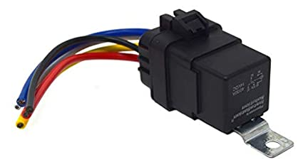 Amazon pipemans installation solution 40a waterproof ip67 5 pipemans installation solution 40a waterproof ip67 5 pin relay switch with harness set ccuart Gallery