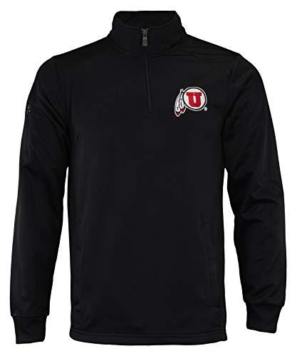 - Outerstuff NCAA Men's Fan Basic 1/4 Zip Track Jacket, Utah Utes Medium