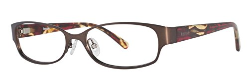 kensie Lunettes Lumineuses Marron 52 MM