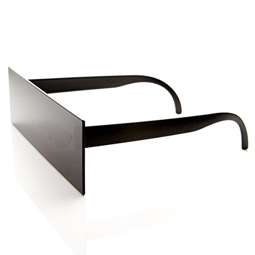 Internet Censorship One-Piece Black Bar Novelty Sunglasses (Black)