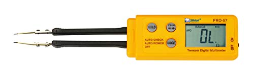 - Global Specialties PRO-57 Tweezer Digital Multimeter