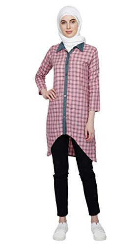Asymmetric Shirt Dress Abaya Hijab by Ruqsar