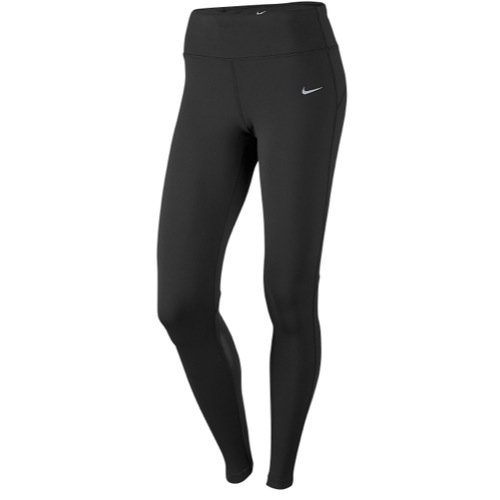 Nike Women's Epic Lux Tights, X-Large, Black/Reflective Silver by Nike