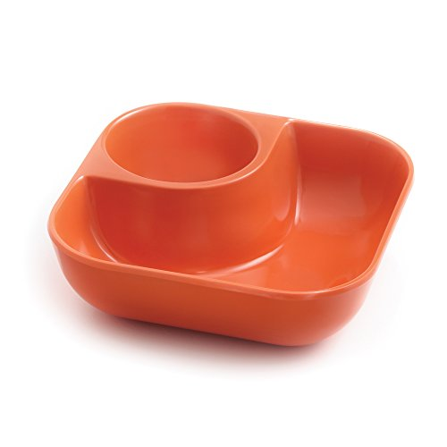 Outset B430TA Little Dipper, Individual Snack and Dip Bowl, (Section Dip Bowl)