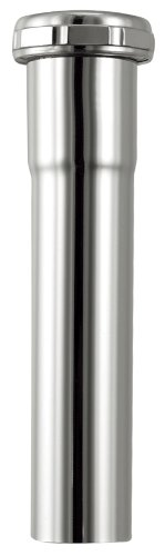 Plumb Craft 7632600N 1-1/2-Inch by 6-Inch Sink Tailpiece Extension (Chrome Extension Tube)