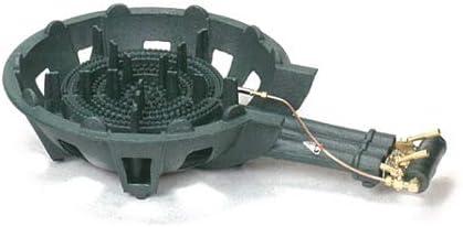 タチバナ製作所 三重コンロ TS-330P 下枠セット(種火付) 都市ガス(12A/13A)