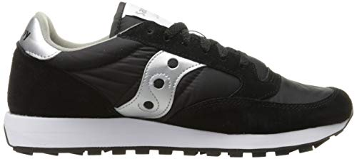 Femme Jazz silver De black Noir Saucony Chaussures Cross Original XR6x6fqa