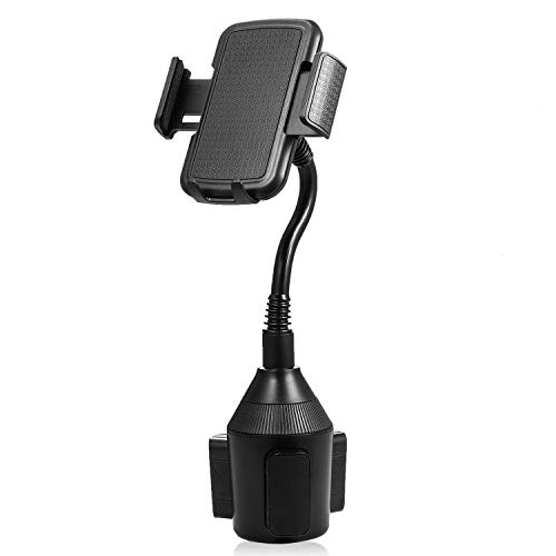 Universal Car Cup Holder Phone Mount Gooseneck Cup Holder Smartphone Mount Cellphone Cradle for iPhone Xs/XR/Xs Max/X/8/7 Plus/Galaxy Note 9 S10 S9 Plus,Google Pixel 2 3 XL,Huawei and More