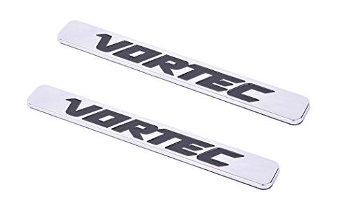 - Aimoll 2pcs Vortec Emblems, Badges for Chevrolet 2500hd GMC Sierra Silverado Gm Truck Liter Badges (Chrome)