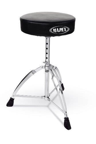 Mapex Double Brace Round top Drum Throne (Bailey Stool)
